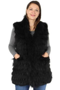 Gilet Oakwood Gilet Beauty en fourrure ref_cco38120 Noir(115558158)