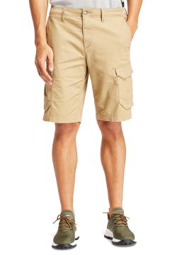 Timberland Tarleton Lake Stretch Twill Relaxed Cargo Spazier-Shorts - British Khaki(116437551)