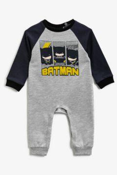 Koton Erkek Çocuk Pamuklu Batman Lisansli Baskili Uzun Kollu Çitçitli Tulum(127012977)