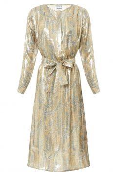 Kleid aus Lurex und Seide Louisiane(117377280)