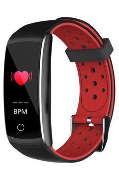 Everest Ever Fit W49 Android/IOS Smart Watch Kalp Atışı Sensörlü Kırmızı/Siyah Akıllı Bileklik Saat(110919890)