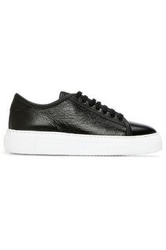 Academia Kadın Siyah Dokulu Deri Sneaker 36(123042230)
