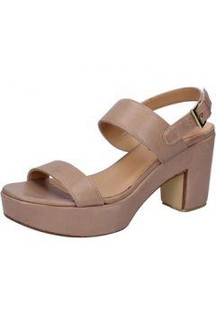 Sandales Shocks sandales beige cuir BY399(115401130)