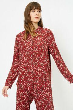Koton Kadın Desenli Pijama Üstü(113407432)