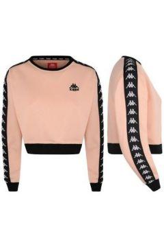 Sweat-shirt Kappa Sweat court avec bandes AYS(115434104)