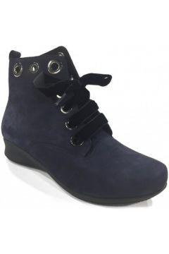 Bottines Hirica Boots lacets Marine ROBBIE(115585525)