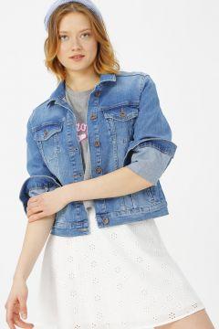 Fashion Friends Mavi Ceket(115292944)