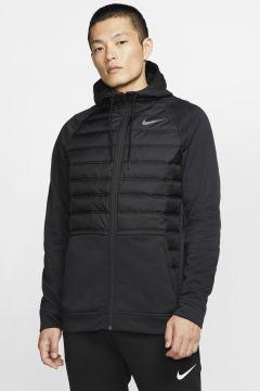 Nike Therma Tam Boy Fermuarlı Erkek Zip Ceket(124163309)