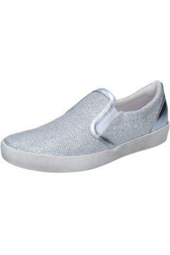 Chaussures W6yz slip on argent textile BZ660(88514652)