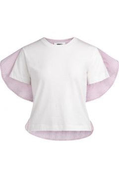 T-shirt Mm6 Maison Margiela T-shirt Chemise blanche à rayures(101538331)