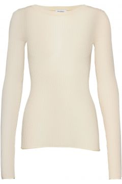 Rodebjer Malpe Strickpullover Creme RODEBJER(116666835)