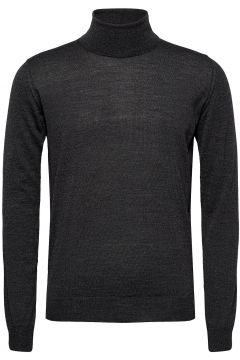 Cole Rollneck Knitwear Turtlenecks Grau OSCAR JACOBSON(119151111)