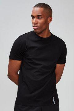 MP Luxe Classic Crew T-Shirt - Black - M(114521587)