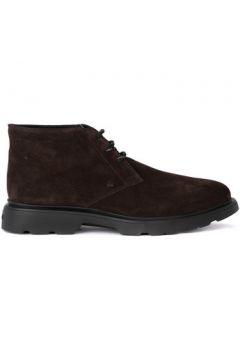 Boots Hogan Chaussure lacée H304 en daim marron(115423829)