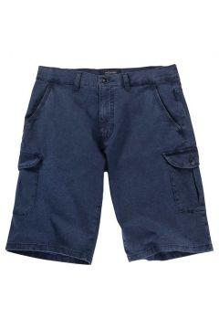 Pionier - Dezent gemusterte Short mit Cargotaschen - blau - 35(92062084)