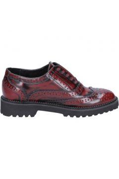 Chaussures Francescomilano élégantes bordeaux cuir BX331(115442527)