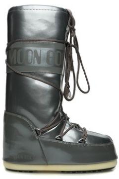 Moon Boot Kadın Classic Metalik Gri Logolu Kar Botu 35-38 EU(108579509)