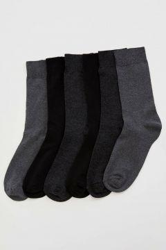 DeFacto Erkek 6\'lı Uzun Çorap(108987234)