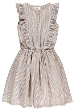 Kleid mit Knöpfe und Rüschen Tina(113868243)