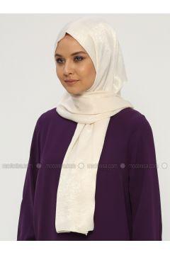 Cream - Plain - Shawl - Silk Home(110314465)