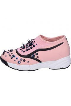 Chaussures Uma Parker slip on rose textile BT563(115442837)