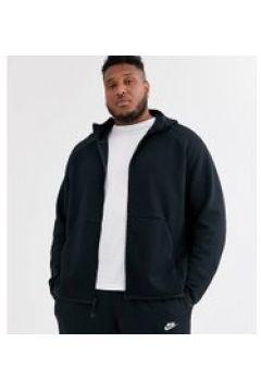 Nike Plus - Schwarze Kapuzenjacke aus Tech-Fleece - Schwarz(95025421)