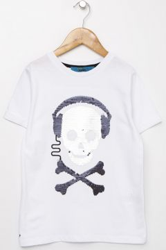 Funky Rocks Beyaz T-Shirt(113994433)