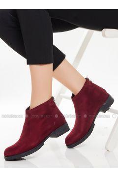 Maroon - Boot - Boots - Ayakkabı Havuzu(110333635)