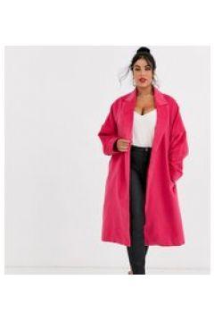 Unique21 Hero - Cappotto di lana con cintura-Rosa(120389897)