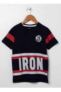 Name İt Erkek Çocuk Lacivert T-Shirt(113980192)