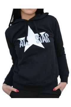 Sweat-shirt Converse Felpa Nera(115477102)