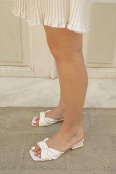 STRASWANS Pulsar Bayan Topuklu Terlik Beyaz(119318624)