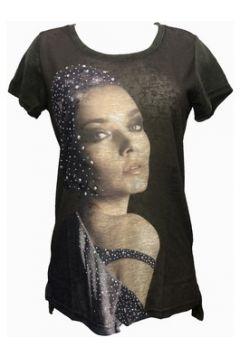 T-shirt Tcqb Tee shirt Y-0029 Vert(127987234)