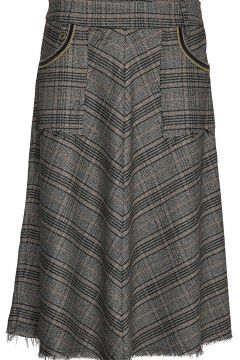 Alice Milano Skirt Knielanges Kleid Grau MOS MOSH(114163676)