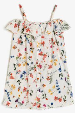 Koton Kız Çocuk Desenli Elbise(117892846)