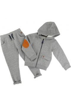 Jogging enfant Carrement Beau Ensemble veste et pantalon gris(98528936)