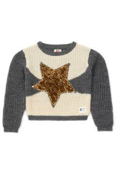 Pullover Stern mit Pailletten(113868506)