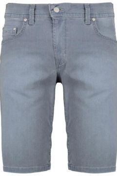 Pioneer: Bequeme 5-Pocket Short mit Stretch, 28, Jeansblau(113584876)