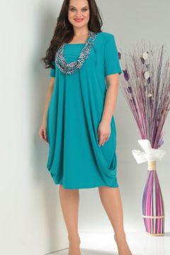 Платье Milana 622 бирюзовые тона(118824077)