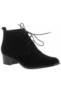 Boots Elizabeth Stuart boots cuir velours(98529812)