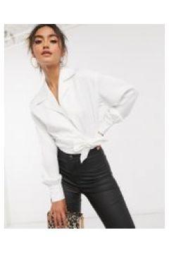 4th & Reckless - Camicia a portafoglio bianca-Bianco(120381195)