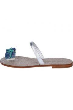 Sandales Eddy Daniele sandales argent cuir bleu swarovski aw434(115442448)