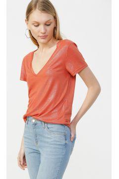 Only Kiremit Simli T-Shirt(117655016)