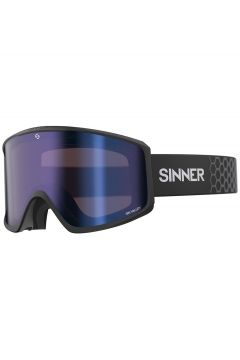 Sinner Sin Valley Matte Black ( Bonus Lens) zwart(97116461)