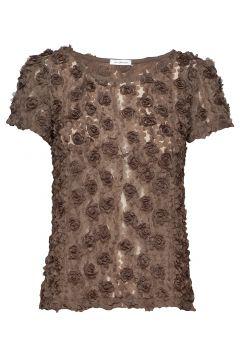 Julie Top Blouses Short-sleeved Grün IDA SJÖSTEDT(114468202)