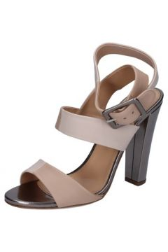 Sandales Sergio Rossi sandales beige cuir BZ16(115393900)
