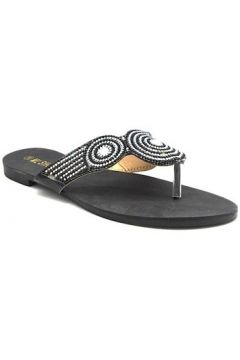 Sandales Cendriyon Tongs Noir Chaussures Femme(101632005)