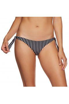 Bas de maillot de bain SWELL Vintage Tie Side Brief - White/black Stripe(111319497)