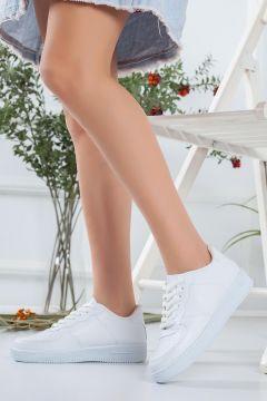 HAYATINIZI KOLAYLAŞTIRIN Kadın Beyaz Spor Ayakkabı(118648228)