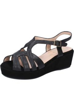 Sandales Allison sandales noir cuir daim BZ305(88470290)